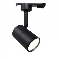 BLACK Track Light for GU10 Lamp