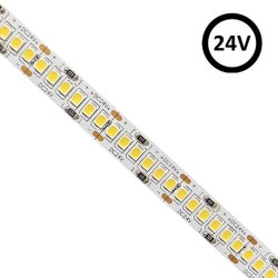 Striscia LED 24V | 240xLED/m | 5m | SMD2835 |3800Lm | 24W/M | CRI90 | IP20  | HIGH LUMENS