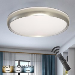36W LED Ceiling Light LAHTI - Dimmable - CCT + Remote Control