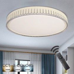 36W LED Ceiling Light VANTAA - Dimmable - CCT + Remote Control