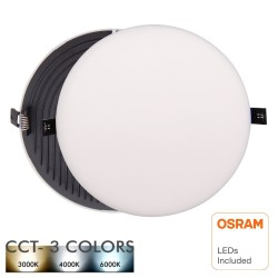 LED Downlight 24W - Frameless QUASAR - OSRAM CHIP DURIS E 2835 - CCT