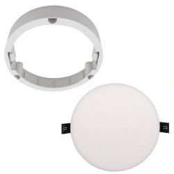 Frame Converter in Ceiling Light for Downlight - QUASAR12W