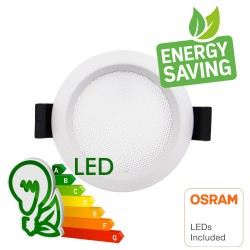 LED Downlight 10W - OSRAM CHIP DURIS E 2835 - CCT - UGR17