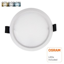LED Downlight 15W - OSRAM CHIP DURIS E 2835 - CCT - UGR17