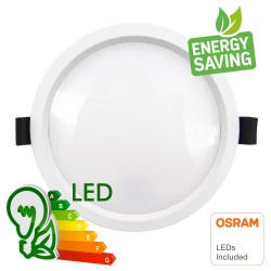 LED Downlight 20W - OSRAM CHIP DURIS E 2835 - CCT - UGR17