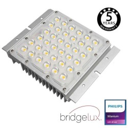 LED Optical Module 10W-65W Philips Driver Programmable BRIDGELUX Chip SMD5050 8D for Streetlight