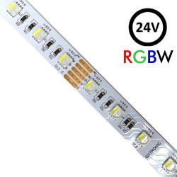 Striscia flessibile interna di RGBW LED 10W*5m - SMD5050 - 24V