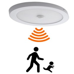20W LED Ceiling Light Surface with Motion Detector - CCT