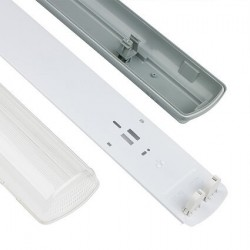 Bloc tubes LED double - IP65 - 120cm