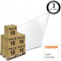 PACK 10 Painel LED 60x60 48W - OSRAM CHIP DURIS E 2835