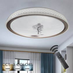 36W LED Ceiling Light RAUMA - Dimmable - CCT + Remote Control