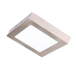 Square Stainless Steel 20W LED Ceiling Light - CCT - OSRAM CHIP DURIS E 2835