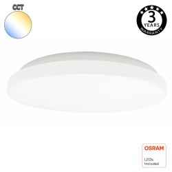 18W LED Ceiling Light Surface OSRAM Chip - CCT - SELECTABLE COLOR