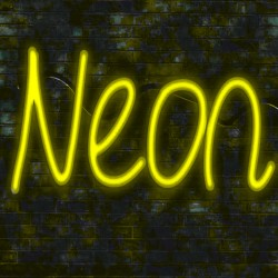 8W Neon LED Flexible 12V Coil 25m  8mm Yellow