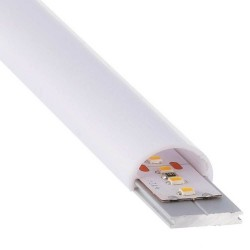 Integrated LED Linear Batten - Surface - TENNESEE - SILVER -24V- 0,5m - 1 m - 1,5m - 2m