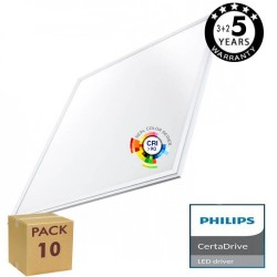 PACK 10 Pannello LED 60x60  44W - Philips Certa Driver