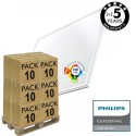 PACK 10 LED Panel 60x60  44W - Philips Certa Driver