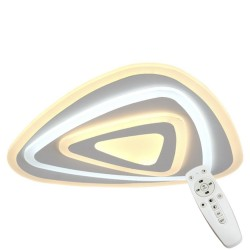 LED Ceiling Light Surface 80W - 40W - TURIN - CCT