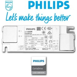 PACK 10 Painel LED 60x60  44W - Philips CertaDrive - CRI+92