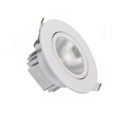 Downlight LED 6W 90º
