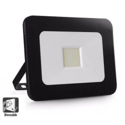 LED Outdoor Floodlight Luxury 50W Black 120Lm / W