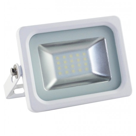 Foco Proyector Exterior Blanco LED 10W IP65 ECO 3030-3D