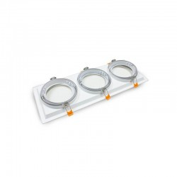 Housing WHITE triple adjustable  for AR111