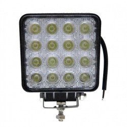 LED Outdoor Floodlight  LED 48W Square 12 / 24V for VEHICLES