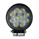 LED Outdoor Floodlight 27W Circular 12 / 24V for VEHICLES
