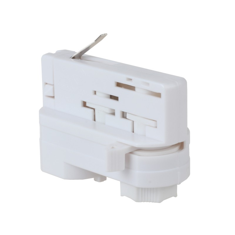 3-PHASE  Connector for rail White