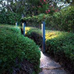 Rectangular LED 10W CREE bollard Outdoor