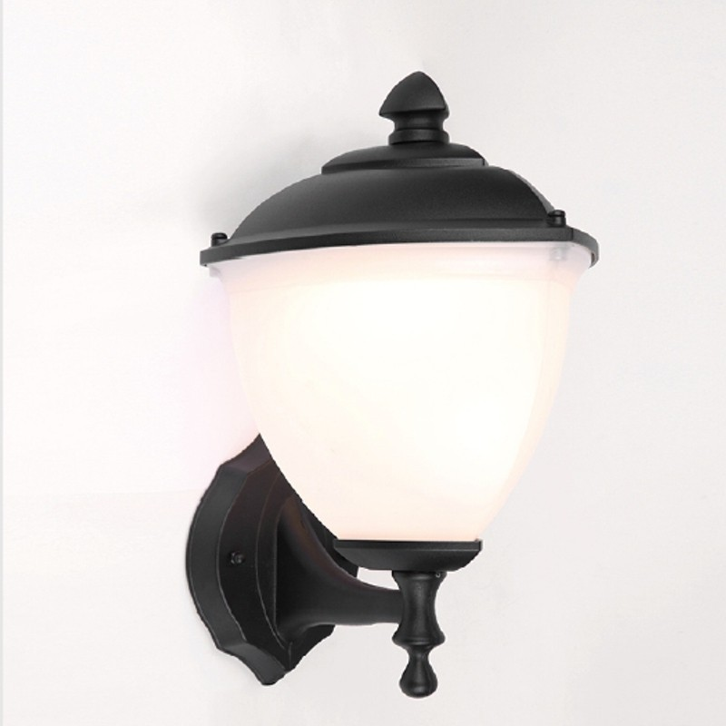 Aplique farol para led e27 exterior apliques led for Apliques de pared exterior led