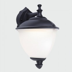 Lantern wall light by LED E27 Outdoor IP54
