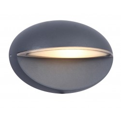 9W LED Wall Light Outdoor 4000K MOON