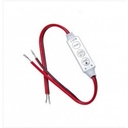 Mini Controlador Dimmer Tira Led Monocolor 12V/24V  DC