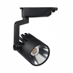LED Tracklight  30W ROMA Black