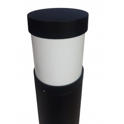 Circular  bollard for LED E27 Outdoor