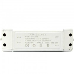 Driver for LED lighting 40W 600mA Not Flick