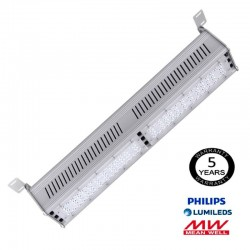 100W Linear LED High Bay - LUMILEDS 140Lm/W  MEAN WELL