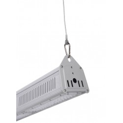 Cloche linéaire  LED -100W - LUMILEDS - 140Lm /W MEAN WELL