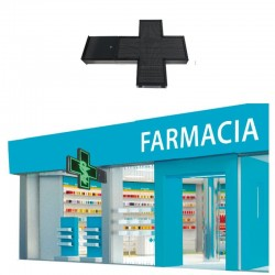 LED screen commercial display Cross Pharmacy RGB Full Color Pixel 8