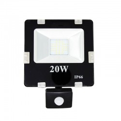 Projector LED 20W SMD com Detector de Movimento