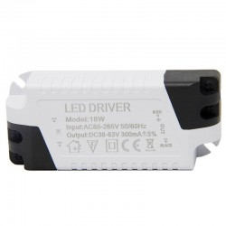 Driver for LED luminaires up to 18W 300mA
