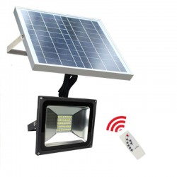 Foco projector exterior SOLAER LED  20W