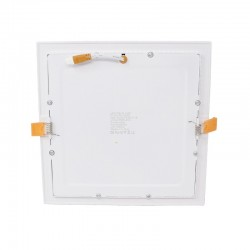 LED Square Downlight Slim 20W 120º