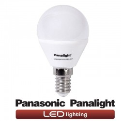 LED-pære 4W E14 G45 Panasonic Panalight