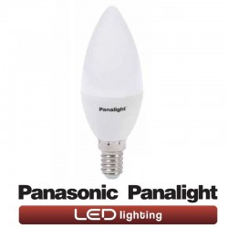 Lys LED-pære E14 4W Panasonic Panalight