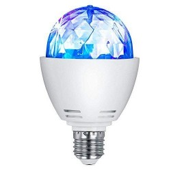 LED Lampe E27 3W RGB Disco