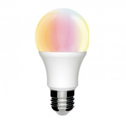 10W LED Bulb RGB 270º E27 with Remote Control