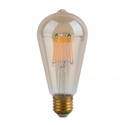 6W LED Bulb Filament Vintage E27 Gold ST64